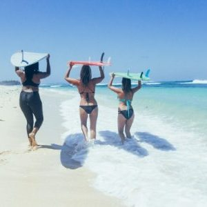 women's surf retreats Bali - surf lessons for women - surf goddess retreats