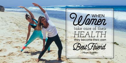 Goddess Retreats for women health quote beach yoga